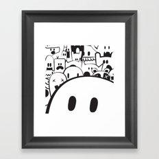 Monstah! Framed Art Print