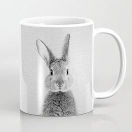 Rabbit - Black & White Coffee Mug
