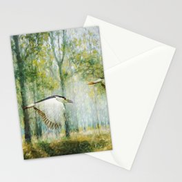 Magical Forests Impressionism Stationery Cards