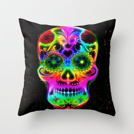 Skull20151213 Throw Pillow