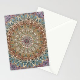 Gentle Touch Mandala Art Stationery Cards