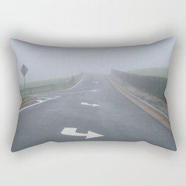 Fogged In/Wrong Way Rectangular Pillow