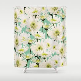 Gerbera #society6 #decor #buyart Shower Curtain