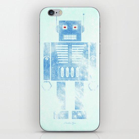 Robophobia iPhone & iPod Skin