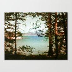 Søndre Sandøy One Canvas Print