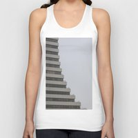 building Tank Tops featuring Building by RMK Creative