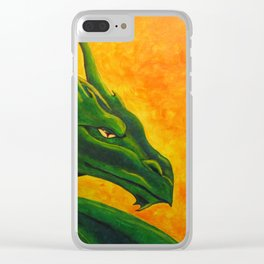 Sovereign Dragon Clear iPhone Case