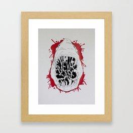 NEVA SAFE Framed Art Print