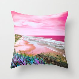 Mars Sea Throw Pillow