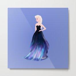 Queen Elsa (Elie Saab inspired) Metal Print