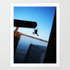 Arachnophobic Art Print