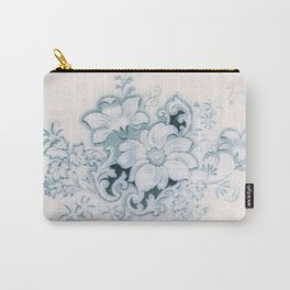 Vintage Flower Flow Carry-All Pouch