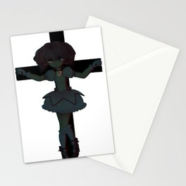 3D Space Jesus Stationery Cards