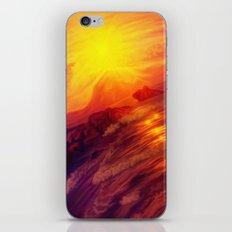 Purple sunset on Ardor planet iPhone Skin