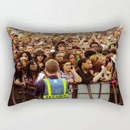 Concert Crowd Rectangular Pillow