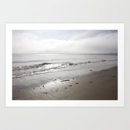 Broughty Ferry beach 5 Art Print