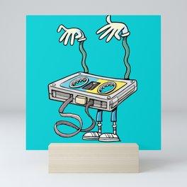 horror music cassette Mini Art Print