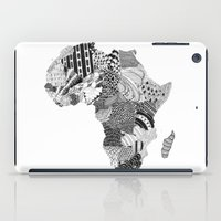 south africa iPad Cases featuring Africa by Kacenka