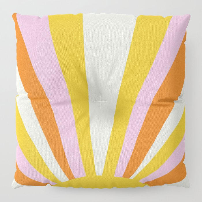 sunshine state of mind Floor Pillow