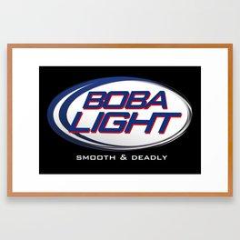 Boba-Light   Framed Art Print