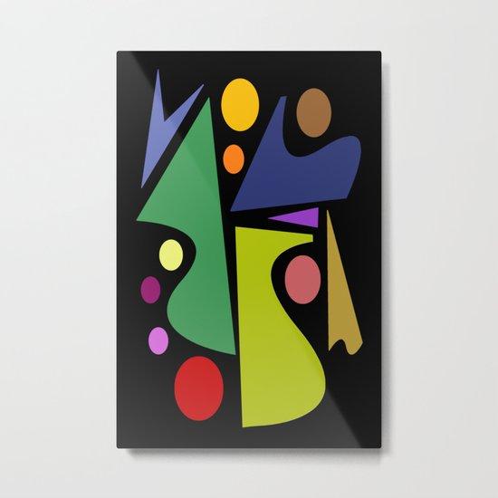 Abstract #301 Metal Print