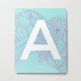 TROPIC-A-L Metal Print