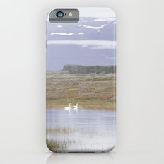 Swans of Iceland iPhone 6s Slim Case