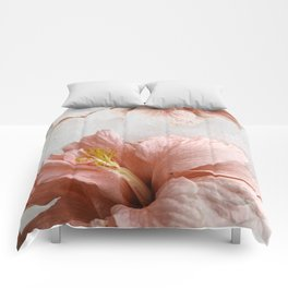 Blossom, Pink Flowers Comforters