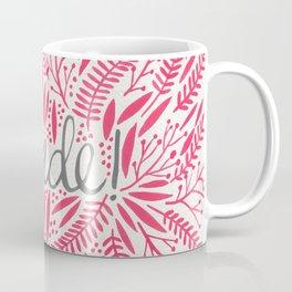 Pardon My French – Pink Coffee Mug