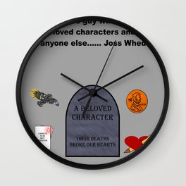 Greatest Villain of all time.....  Wall Clock
