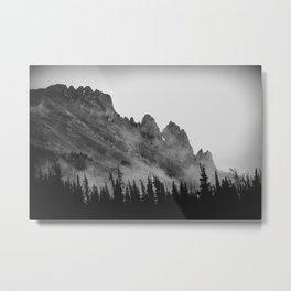 The Crags at Dawn Metal Print