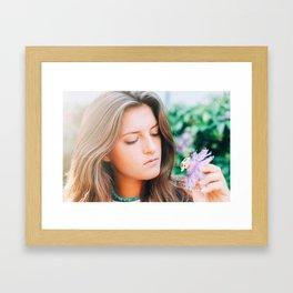Flower photography by Seth Doyle Framed Art Print