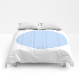 blue circle Comforters