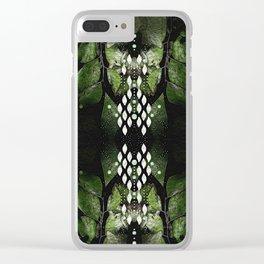 Maidenhair & Moonbeams 02 Clear iPhone Case