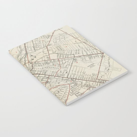 Vintage Map of Schenectady NY (1917) by bravuramedia