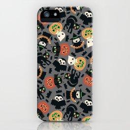 Halloween Gang grey iPhone Case