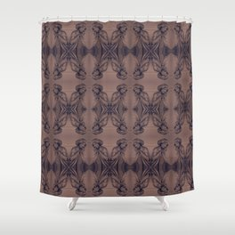 Silent Prayer Shower Curtain