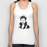 hook Tank Tops featuring Captain Hook by *deim lacquer