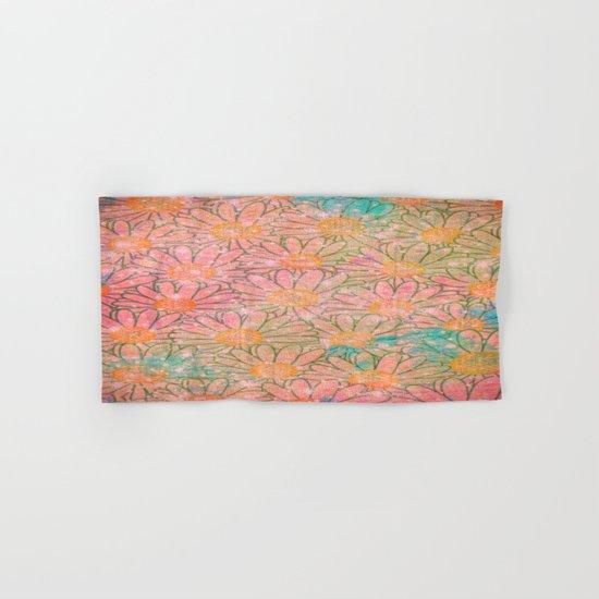 flower-477 Hand & Bath Towel