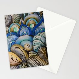 Majestic Coral Stationery Cards