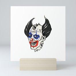Joker Clown Mini Art Print