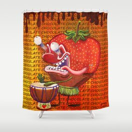 Cedurburg Stawberry Shower Curtain