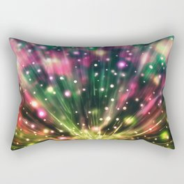 Brilliant Fireworks Rectangular Pillow