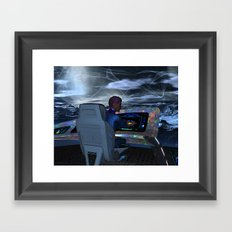 Planetary Exploration Framed Art Print