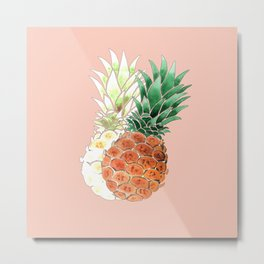 Pineapple. Metal Print