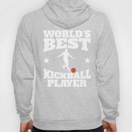 Retro World's Best Kickball Player Hoody
