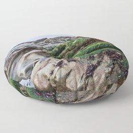 Low Tide Rocks Floor Pillow