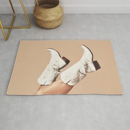 These Boots - Nude Rug