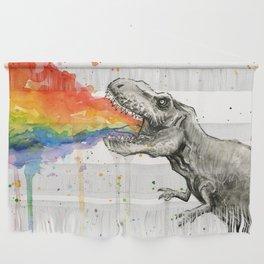 T-Rex Rainbow Puke Wall Hanging