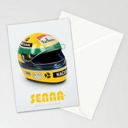 Senna - Alternative Movie Poster Stationery Cards